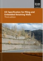 ICE Specification for piling and embedded retaining walls