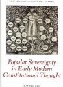 Popular sovereignty in early Mmdern constitutional thought