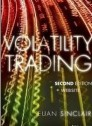 Volatility Trading + website